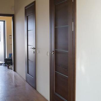 Vidaus durys iš medžio masyvo / Aidas Mazūra / Darbų pavyzdys ID 335357