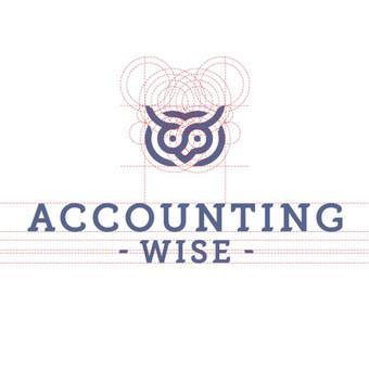Accounting wise - buhalterinės paslaugos   |   Logotipų kūrimas - www.glogo.eu - logo creation.