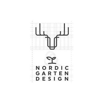 Nordic garten design  |   Logotipų kūrimas - www.glogo.eu - logo creation.