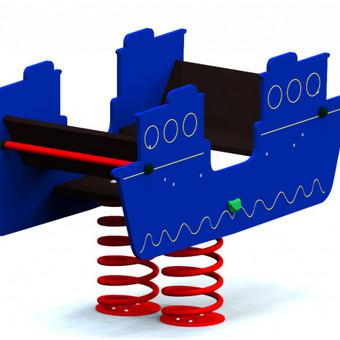"""Spyruoklinis žaislas """"Laivas"""""""