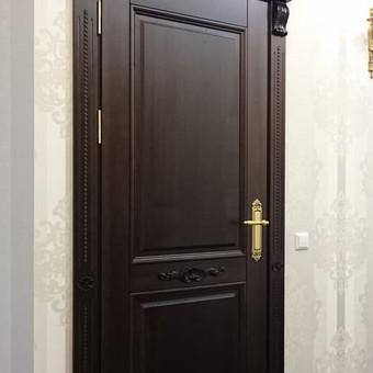 Vidaus durys iš medžio masyvo / Aidas Mazūra / Darbų pavyzdys ID 337785