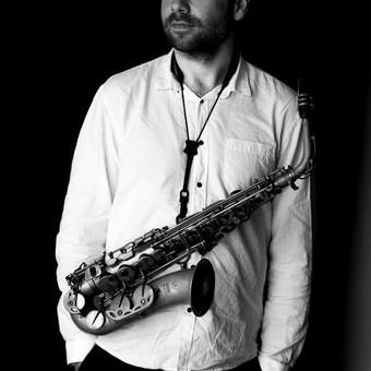 Saksofonistas / Manvydas Pratkelis / Darbų pavyzdys ID 341423