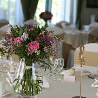 Vestuvinis floristinis dekoravimas / Isdeco / Darbų pavyzdys ID 341621