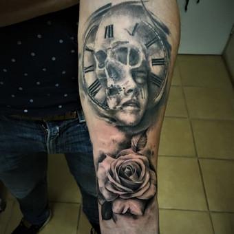 Tatuiruotės, tatuiruočių salonas / Viktoras Krol / Darbų pavyzdys ID 343843