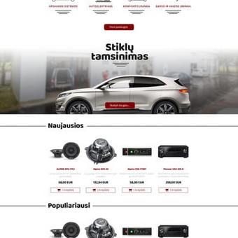 WEB / GRAFIKOS dizaineris / Ernestas Martinkus / Darbų pavyzdys ID 351145
