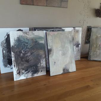 Dideli tapybos paveikslai interjerui nuo 300 € / Dalia Kirkutienė / Darbų pavyzdys ID 354553