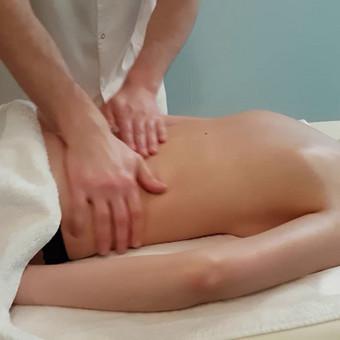 Klasikinio masažo technika.