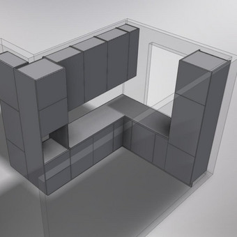 Baldų projektai / Karolis Liekis / Darbų pavyzdys ID 356487