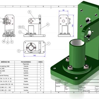 Braižytojas Klaipėdoje (AutoCad, SolidWorks, Inventor) / ProjektasCAD / Darbų pavyzdys ID 358361