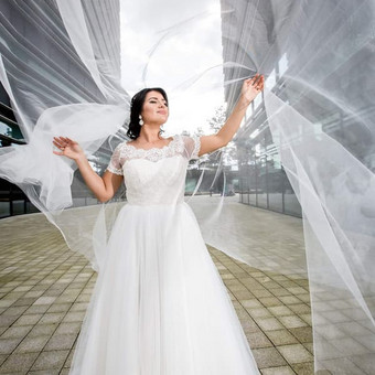 Vestuvinių ir proginių suknelių siuvimas Vilniuje / Oksana Dorofejeva / Darbų pavyzdys ID 363213