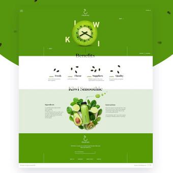 Internetinių puslapių ir grafikos dizainas / Vilma / Darbų pavyzdys ID 364221
