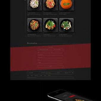Internetinių puslapių ir grafikos dizainas / Vilma / Darbų pavyzdys ID 364227