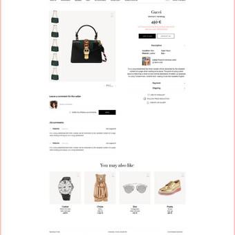 Internetinių puslapių ir grafikos dizainas / Vilma / Darbų pavyzdys ID 364241