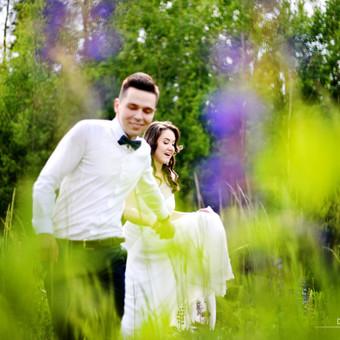 Vestuvių fotografavimas Vilniuje, aukštaitijoje / Donata Vitkienė / Darbų pavyzdys ID 368779