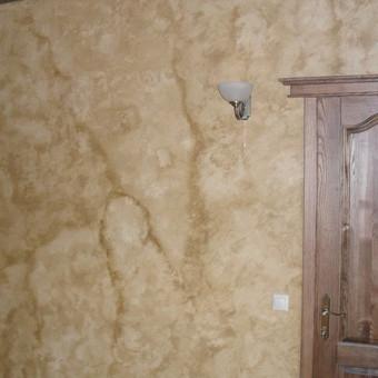 Sienu dekoravimas,vidaus apdailos darbai. / Rolandas / Darbų pavyzdys ID 370567