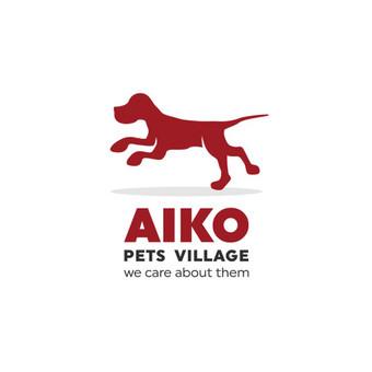 Aiko pets village / Aiko gyvūnų kaimelis - gyvūnų globos namai. Logotipas labdaros tikslais siekiant prisidėti prie beglobių gyvūnų gelbėjimo.    |   Logotipų kūrimas - www.glogo.eu - logo ...