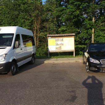 Keleivinių baltų Mercedes Sprinter mikroautobusų nuoma / Algimantas / Darbų pavyzdys ID 374055