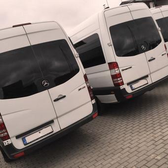 Keleivinių baltų Mercedes Sprinter mikroautobusų nuoma / Algimantas / Darbų pavyzdys ID 374091