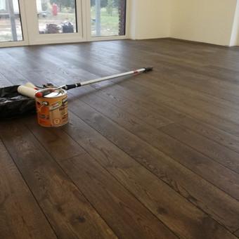 Medinių grindų įrengimas / Arnas / Darbų pavyzdys ID 374459