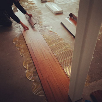 Medinių grindų įrengimas / Arnas / Darbų pavyzdys ID 374461