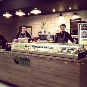 Kavinės interjeras