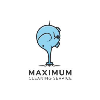 Maximum - cleaning services, valymo paslaugos   |   Logotipų kūrimas - www.glogo.eu - logo creation.