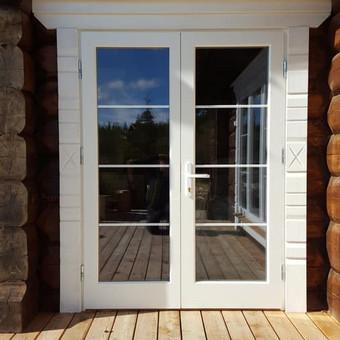 Medžio masyvo durys, langai, laiptų pakopos, palangės, deko / Arūnas / Darbų pavyzdys ID 375849