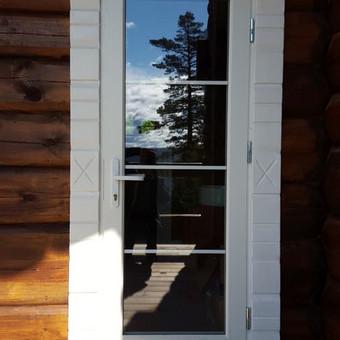 Medžio masyvo durys, langai, laiptų pakopos, palangės, deko / Arūnas / Darbų pavyzdys ID 375851
