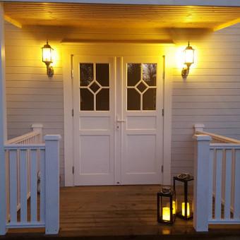 Medžio masyvo durys, langai, laiptų pakopos, palangės, deko / Arūnas / Darbų pavyzdys ID 375855