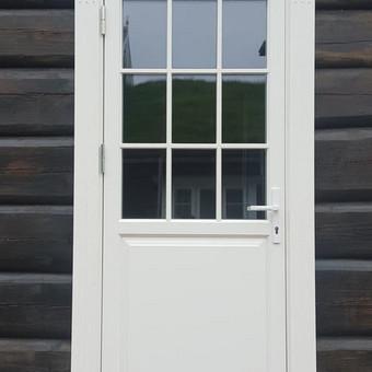 Medžio masyvo durys, langai, laiptų pakopos, palangės, deko / Arūnas / Darbų pavyzdys ID 375861