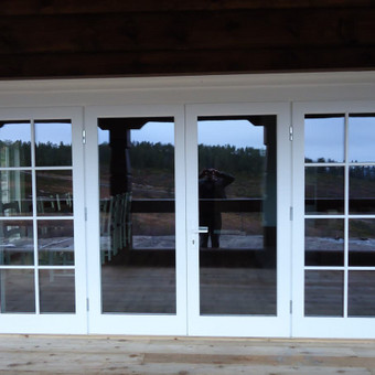 Medžio masyvo durys, langai, laiptų pakopos, palangės, deko / Arūnas / Darbų pavyzdys ID 375863