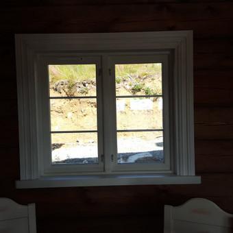 Medžio masyvo durys, langai, laiptų pakopos, palangės, deko / Arūnas / Darbų pavyzdys ID 375873