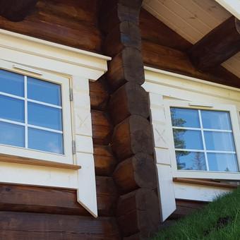 Medžio masyvo durys, langai, laiptų pakopos, palangės, deko / Arūnas / Darbų pavyzdys ID 375877