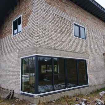 Plastiko, Aliuminio, Medžio profilio langai,durys,pertvaros / UAB / Darbų pavyzdys ID 376463
