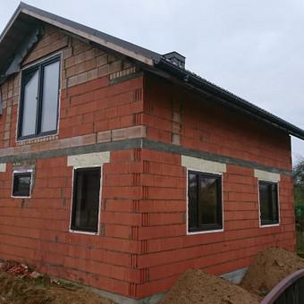 Plastiko, Aliuminio, Medžio profilio langai,durys,pertvaros / UAB / Darbų pavyzdys ID 376467