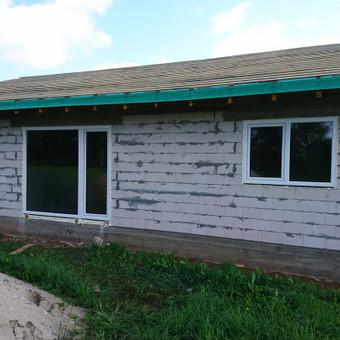 Plastiko, Aliuminio, Medžio profilio langai,durys,pertvaros / UAB / Darbų pavyzdys ID 376485