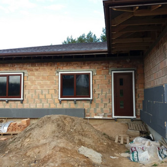 Plastiko, Aliuminio, Medžio profilio langai,durys,pertvaros / UAB / Darbų pavyzdys ID 376493