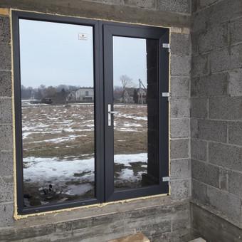 Plastiko, Aliuminio, Medžio profilio langai,durys,pertvaros / UAB / Darbų pavyzdys ID 376495