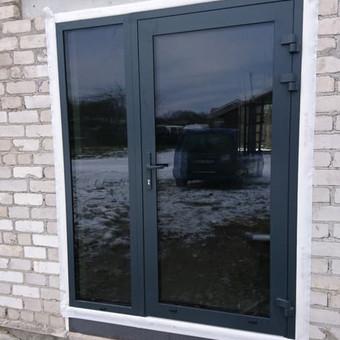 Plastiko, Aliuminio, Medžio profilio langai,durys,pertvaros / UAB / Darbų pavyzdys ID 376501