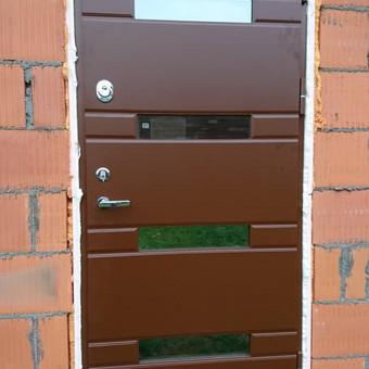 Plastiko, Aliuminio, Medžio profilio langai,durys,pertvaros / UAB / Darbų pavyzdys ID 376505