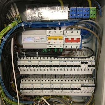 Elektrikas, elektros darbai / Marius Alekna / Darbų pavyzdys ID 377289