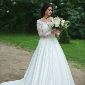 Vestuvinių ir proginių suknelių siuvimas Vilniuje / Oksana Dorofejeva / Darbų pavyzdys ID 378025