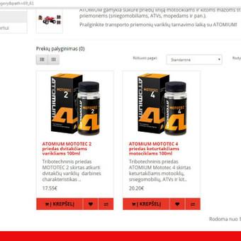 Elektroniniu Internetiniu parduotuviu kūrimas / MB AUTOBAMBA / Darbų pavyzdys ID 380371