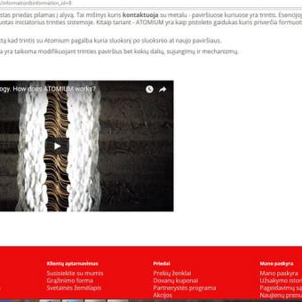 Elektroniniu Internetiniu parduotuviu kūrimas / MB AUTOBAMBA / Darbų pavyzdys ID 380373