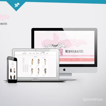 Suprogramuotas unikalus dizainas. Naudojama Prestashop turinio valdymo sistema.